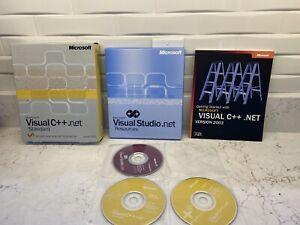 Microsoft Visual C++ .NET Standard Version 2003! 6-Discs, Book & Resources!