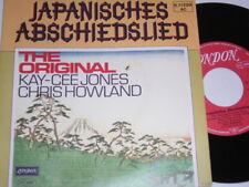 """7"""" - Kay Cee & Chris Howland Jones Japanisches Abschiedslied - 1978 # 6398"""