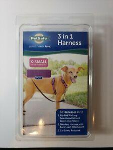 Petsafe Plum Three in One Harness X-Small