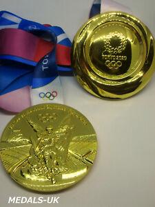 2020 OLYMPIC GAMES TOKYO 2021 TOKIO Replica GOLD MEDAL