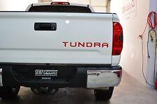 Toyota Tundra Tailgate Inlays 2014-2018 sticker, decal overlay inlay