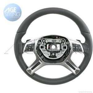 OEM Mercedes-Benz ML350 ML550 X166 GL350 GL450 GL550 AMG Steering Wheel 2013-016