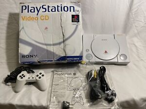 VERY RARE VIDEO CD PlayStation Console BOXED SCPH-5903 HK NTSC white CLEAN PS1
