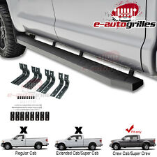 "04-14 Ford F150 Super Crew 86"" Steel Running Boards Nerf Step Bars"