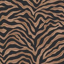 G67490 - Natural FX Beige & Black Zebra stripe effect pattern Galerie Wallpaper