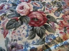 "ROSES ROSES ROSES 43"" X 43"" TABLE TOPPER PINKS LAVENDER AND MORE"