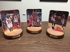 Upper Deck Michael Jordan Plaques with sound Set of 3