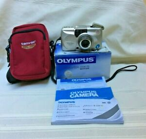 Olympus Stylus Epic Zoom 170 35mm Film Camera Battery Manual & More Tested Works