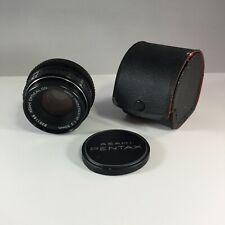 SMC PENTAX-M 50mm 1:2 Fast Prime Lens Asahi fits K1000