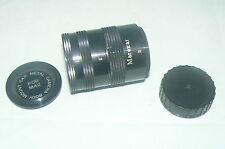 boite MAREXAR I  II  III  cap metal camera for M42 body mount