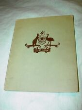 VINTAGE CHILDREN'S library BOOK AUSTRALIA THE ISLAND CONTINENT 1943 GOOD COND!!