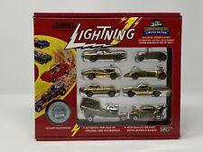 JOHNNY LIGHTING LIMITED EDITION SETS - 1994 8 CAR SET CHROME MATCHBOX HOTWHEELS