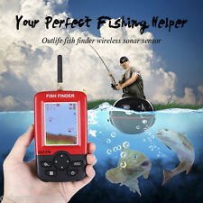 Outlife Portable Fish Finder with Wireless Sonar Sensor LCD Display