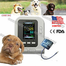 US FDA Digital Veterinary Blood Pressure Monitor CONTEC08A VET NIBP for animals