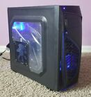 RGB Gaming PC i3-7100 CPU AMD FirePro W2100 Samsung 256GB SSD and 8GB DDR4