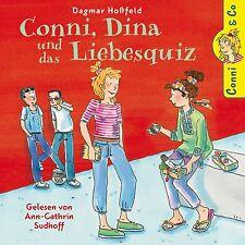 Dagmar Hoßfeld: Conni, Dina und das Liebesquiz – 2 CDs – Ann-Cathrin Sudhoff