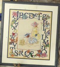 A TO Z ALPHABETS--2 Sampler Designs--10 ABC's--Counted Cross Stitch Pattern