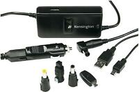Genuine Dell Laptop Kensington 90w Auto Air Car Adapter Charger R3ctx