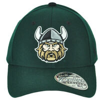 NCAA Zephyr Cleveland State Vikings Green Flex Fit Stretch Medium Large Hat Cap