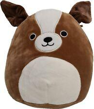 "Squishmallow Kellytoy 8"" Bernie The St. Bernard Dog Plush Toy"