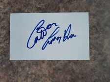 CATRIONA LE MAY DOAN AUTOGRAPHED INDEX CARD
