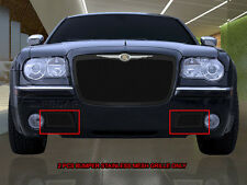 Lower Bumper Replacement Black Mesh Grille Grill For 05-10 Chrysler 300C