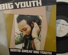 BIG YOUTH - Some Great Big Youth ~ VINYL LP