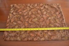 By 1/2 Yd, Gold & Brown Quilting Batik, Moda/Paradise/4513 17, M8803