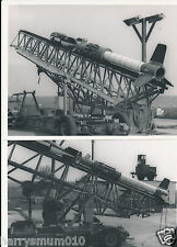 Military photograph 1965 rocket to take 1000 lb bomb Hunting engineering secret