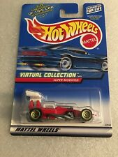 2000 HOT WHEELS #158 VIRTUAL COLLECTION CARS SUPER MODIFIED New On Card B107