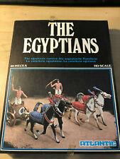 Atlantic 1503 The Egyptians army Pharoah cavalry chariots 1/72 MIB OVP