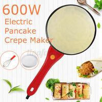 Crepes Platte Crepe Maker Wrapmaker Pfannkuchen Pfanne Omelette Wrap Rot
