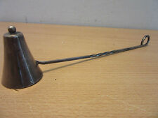 Vintage Sterling Silver candle snuffer with handle by Aucello 46gr