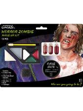 Halloween Faux Peau Sang Gore Make up Kit Zombie accessoire robe fantaisie adultes