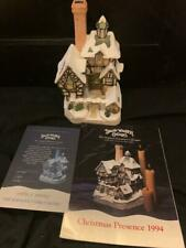 """David Winter Cottages """"The Scrooge Family Home"""" Mint w/Coa in Box Hand-Crafted"""