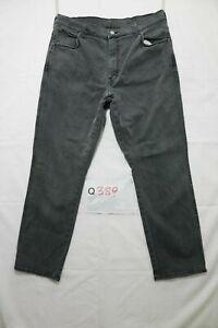 Wrangler texas stretch Utilisé (Cod.Q389) W40 L32 en Jeans Western Noir Grade A