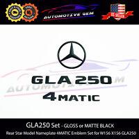 156 FITS MERCEDES REAR LIFTGATE EMBLEM LOGO STAR BADGE GLA250 GLA45 14-19