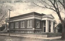 Baptist Church in Roswell NM 1911
