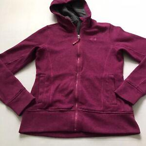 Under Armour Womens S Storm Sweater Fleece Pink Full Zip Jacket Hooded