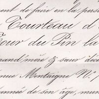 Adélaïde Tourteau D'Orvilliers La Tour Du Pin La Charce 1863