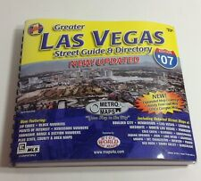 Greater Las Vegas Street Guide & Directory Edition '07 VGC ~ Free Shipping