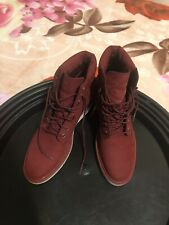 """Timberland Kenniston 6"""" Lace Up Boots Women's Size 9 New Authentic Burgundy"""