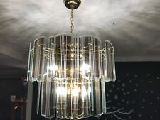 Beautiful pendant chandelier /with 9 lights,perfect for dinning room or foyer.