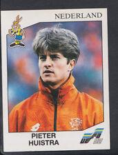 Panini Euro Football 1992 Sticker No 137 - The Netherlands - Pieter Huistra