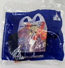 2021 McDONALD'S WALT DISNEY WORLD 50th ANNIVERSARY HAPPY MEAL TOY TIMOTHY MOUSE