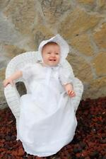"Ribbon Accents make ""Nicole"" an Absolutely  Charming Christening Gown"
