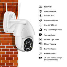 WiFi Auto Tracking Camera Security Ip Ptz Cctv Wireless 1080P Cam Video Cloud Us