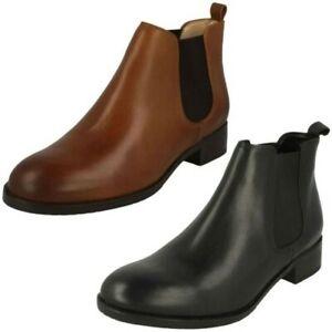 Womens Clarks Chelsea Boots Netley Ella