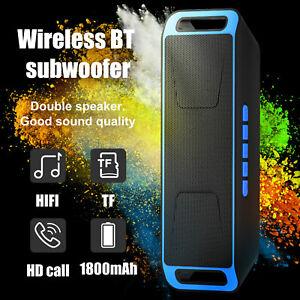 Bluetooth Speaker Wireless Waterproof Outdoor Stereo Super Bass Portable FM AUX