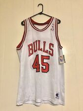 Champion Chicago Bulls Michael Jordan Jersey New With Tags Size 48 Vintage #45